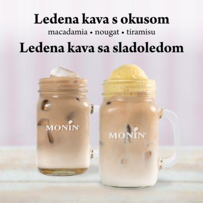 Torterie ledena kava s okusom